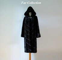美しい色合いシェアードレッキスコート柔らかい贅沢な肌触り・チンチラ・カルガンラム・セーブル・ファー・毛皮お好きな方に