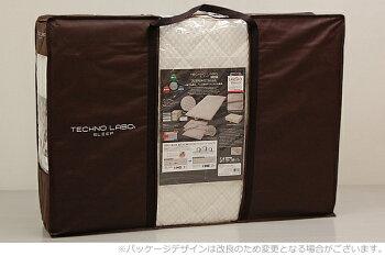 TECHNOLABOH-CLASSテクノラボ・ダニロックプレミアムタイプマットレス(三つ折り)/シングル