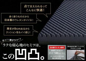 西川の健康敷ふとんRAKURA(ラクラ)/シングル