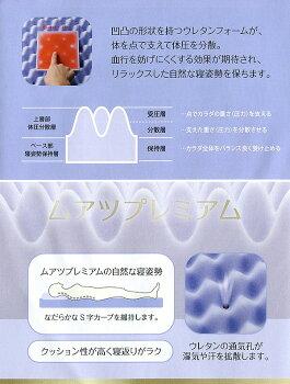 ムアツプレミアム西川ムアツ敷ふとん(90mm)/シングル