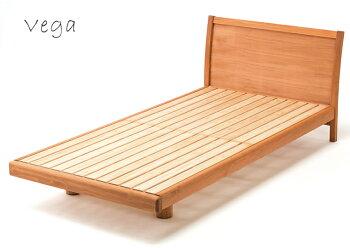 国産ひのきベッドフレームすのこベッドVega(ベガ)/シングル
