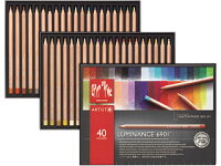 カランダッシュ・ルミナンス(油性色鉛筆・軟芯)40色セット紙箱入