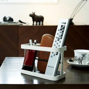 リモコンや小物の特等席。リモコンラック タワー(リモコン収納/小物入れ/ペン立て/シンプル)