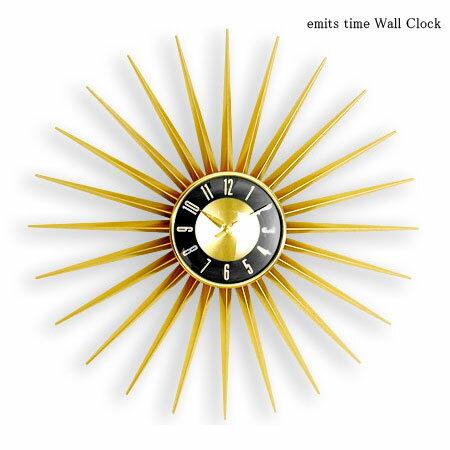 emits time ウォールクロック (掛け時計 時計 壁掛け おしゃれ 人気 壁掛け時計 壁 結婚祝い 新築...