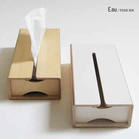 Eau TISSUE BOX(ティッシュケース)【ティッシュケース おしゃれ ティッシュケース 人気 ティッシュ...