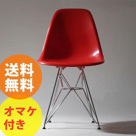 イームズデザイン DSRチェア (Charles and Ray Eames Dining Side-chair Rod base ミッドセンチュ...