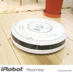 ●送料無料1時間わずか1円で部屋中をくまなく お掃除!【送料無料】iRobot 自動掃除機 Roomba 5...