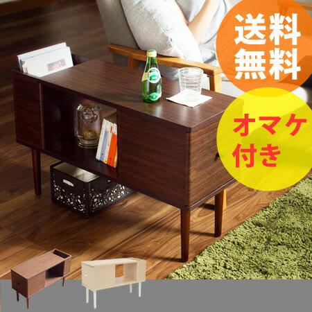 ES サイドテーブル (ベッドサイドテーブル リモコンラック付き サイドテーブル 北欧 ナイトテーブ...