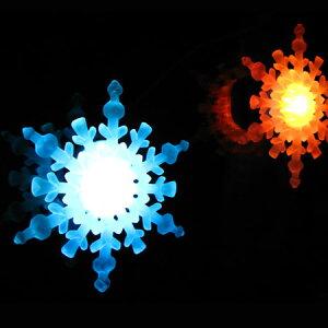 スノーフレーク/SNOW FLAKE/雪の結晶/クリスマスツリーにもピッタリ/LEDイルミネーション/クリ...