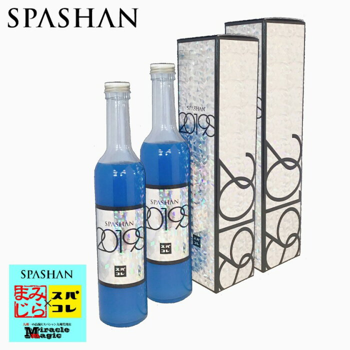 スパシャン SPASHAN 2019S 2本セット ガラスコーティング 瞬足硬化 セット商品