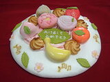 和菓子のデコレーションケーキ小