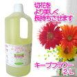 【フジ日本精糖】【切花栄養剤】【切花延命剤】キープフラワー 2L
