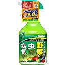 殺虫剤 殺菌剤 野菜 ベニカグリーンVスプレー 1000ml×15個 ケース販売 住友化学園芸