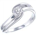 婚約指輪【エンゲージ】ダイヤモンドリング0.311ctExcellentカットハート&キューピットVS2クラスDカラー1-1880-3