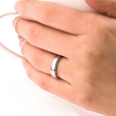 結婚指輪純チタンマリッジリングプラチナイオンプレーティング加工商品【送料無料】刻印無料(文字彫り)金属アレルギーにも強いアレルギーフリーペアリングブライダルリング結婚指輪マリッジリングチタンマリッジリング刻印可能なチタン結婚指輪結婚指輪(c)