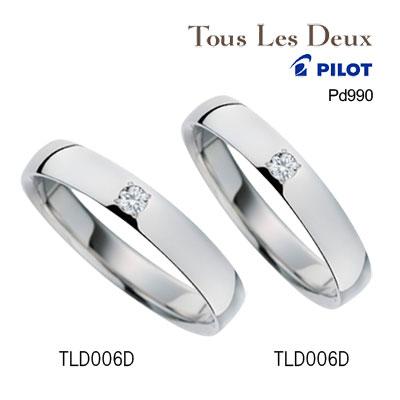 ブライダルジュエリー・アクセサリー, 結婚指輪・マリッジリング  Pd990 990 Tous Les Deux toustld006d 2019