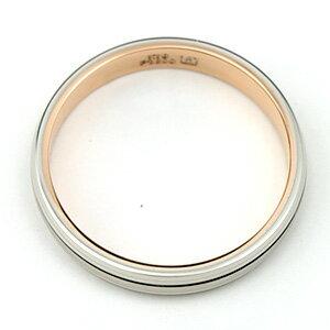結婚指輪マリッジリングプラチナ900/18金ピンクゴールドマリッジリングTRUELOVEパイロット結婚指輪truelovem371-m371d