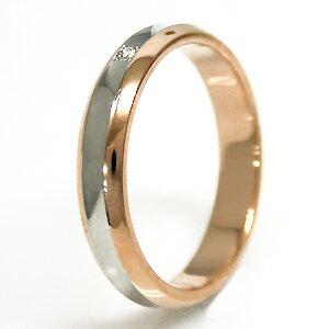 結婚指輪マリッジリングプラチナ900/18金ピンクゴールドマリッジリングTRUELOVEパイロット結婚指輪truelovem374d
