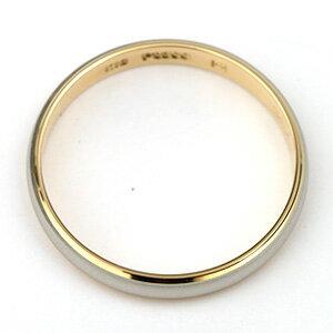 結婚指輪マリッジリングプラチナ900/18金ゴールドマリッジリングTRUELOVEパイロット結婚指輪truelovem801
