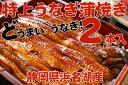 静岡県浜名湖産特上うなぎ蒲焼き2本入&白焼き付きセット【さんぼし一押し】【遠州】