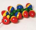 【クーポン配布中】WALTERむかで ニック社NIC プルト-イ 引くおもちゃ 出産祝い 誕生祝 木のおもちゃ ニック ベビー 赤ちゃん ハイハイ 楽天