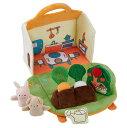 【クーポン配布中】 ふわふわガーデンハウス 布のおもちゃ 布製 パペット ごっこ遊び 玩具 知育 知育玩具 赤ちゃん ベビー 楽天
