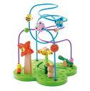 【ディズニーDVDプレゼント】【すぐ使えるクーポン配布中】おさんぽくまさん エドインター (Ed.Inter) 木のおもちゃ ビーズ ルーピング コースター 木製 おもちゃ 知育玩具 知育 玩具 楽天