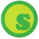 seedleSs. ステッカー S-DOT Sが緑 直径13.8cm (シードレス)