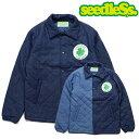 seedleSs denim quilting jkt シードレス キルティングジャケット 2色 インディゴ・ミックス
