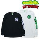 seedleSs.×EXTRA ISSUE ロンTee 20TH Anv L/S Tee 2色 黒・白 シードレス エクストラ イシュー  長袖 Tシャツ