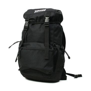 THRASHER バックパック 18L   PE915D CORDURA 黒(白刺繍)   (スラッシャー)(THRCD502)   (バッグ)(リュック)