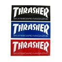 THRASHER SKATE MAGステッカー M (スラッシャー)