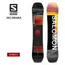2021 SALOMON サロモン NO DRAMA ノードラマ スノーボード 板 レディース ウーメンズ【JSBCスノータウン】