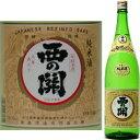 西の関 上撰手造り純米酒1800ml