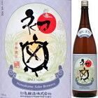 初亀吟醸初しぼり生原酒1.8L