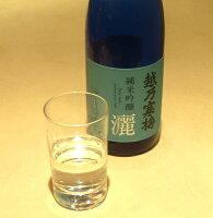 越乃寒梅灑(さい)純米吟醸1.8L色調