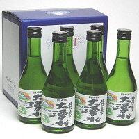 大湧水純米酒300MLx6本ギフト・ボックス入り