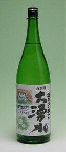 柿田川の恵み 大湧水緑米仕込・純米酒1.8L