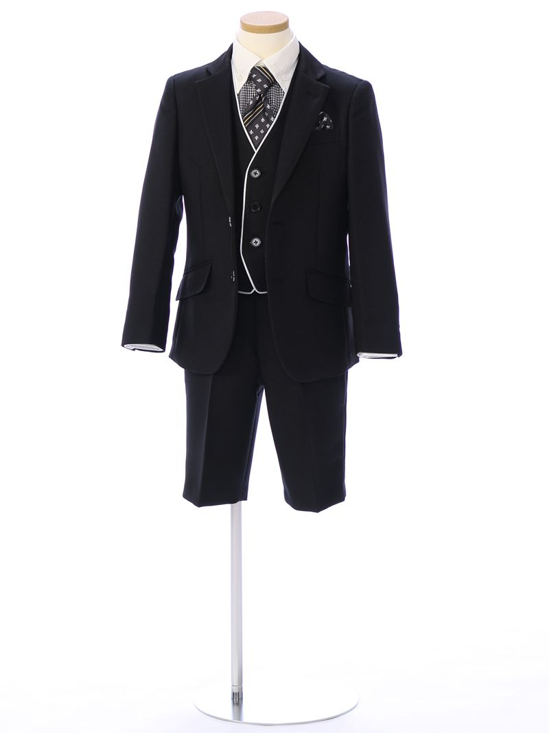 【レンタル】【7歳子供スーツ】入学式・卒業式などフォーマルシーンで活躍 成長真っ盛りのお年頃には気軽にレンタル E-JS-005