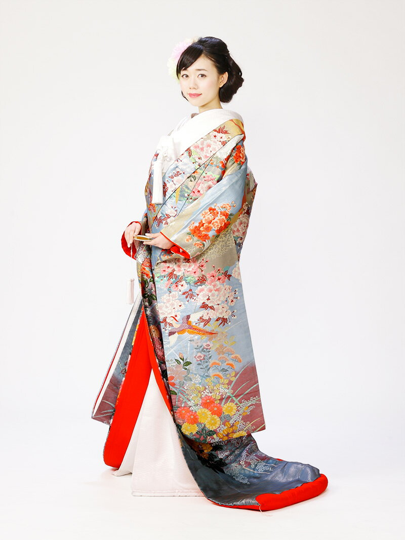 【花嫁・花婿和装レンタル】【色打掛・紋付貸衣装】