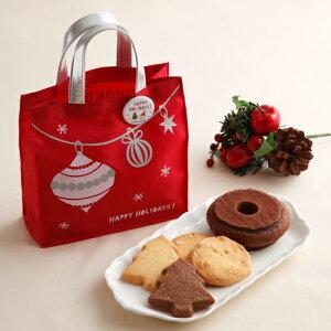クリスマス限定の焼菓子入りバッグクリスマススイーツバッグ12月8日以降お届け【紀ノ国屋】