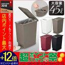 ユニード プッシュ&ペダル 45L ダストボックス ゴミ箱 ...