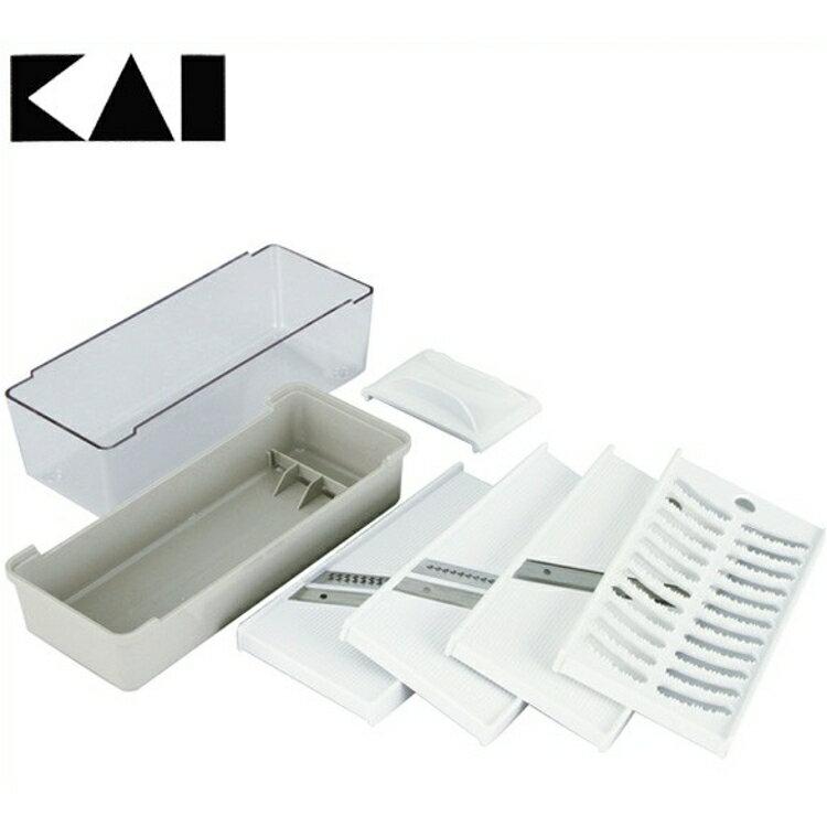 貝印 調理器セット 000DH7076送料無料 千切 ツマ切 スライス、おろし 日本製 ステンレス刃 KaiHouse SELECT