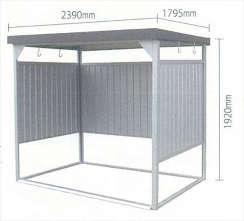 エクステリア・ガーデンファニチャー, 物置き 1.5 DM-10 24001800mm