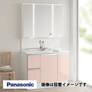 洗面化粧台幅1000mmGC-105Eプラン[XGQC10C5HMAGM-XGQC10C3SBBM]扉:ピンク(鏡面)シーラインパナソニック