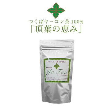 【ヤーコン葉100%使用】健康成分が特に多い健康茶『つくばヤーコン茶(頂葉の恵み)』