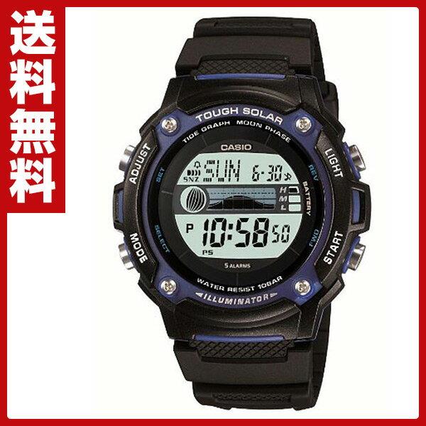 c77de91d4b カシオ(CASIO) スポーツギア(SPORTS GEAR)腕時計 W-S210H-1AJF ソーラー充電 ラップ スプリットタイム インターバル  ...