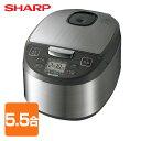 シャープ(SHARP) 炊飯器 (5.5合) KS-S10J...