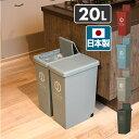 平和工業 ゴミ箱 20リットル ふた付き おしゃれ スリム スライドペール 20L フタ付き ごみ箱 ダストボックス 分別 ペール 【送料無料】