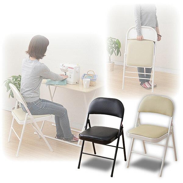 折りたたみチェアYMC-22折り畳みチェア折畳折畳み椅子イスいすチェアー山善YAMAZEN